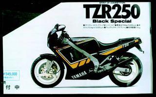 ヤマハ TZR250R 1987年7月