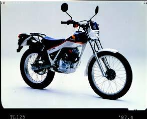 Images : ホンダ TL125 1987年 4月