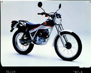 ホンダ TL125 1987年 4月