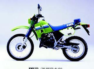 カワサキ KMX125 1987年2月