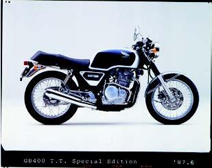 Images : ホンダ GB400TTスペシャルエディション 1987年 6月