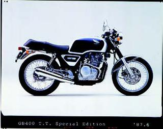 ホンダ GB400TTスペシャルエディション 1987年 6月