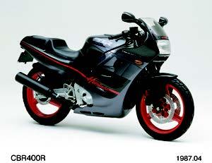 Images : ホンダ CBR400R 1987年 4月