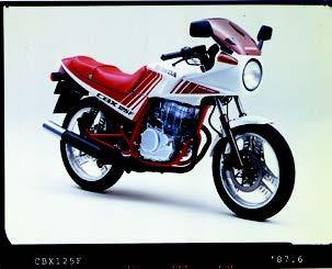 Images : ホンダ CBX125F 1987年 6月