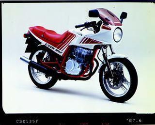 ホンダ CBX125F 1987年 6月