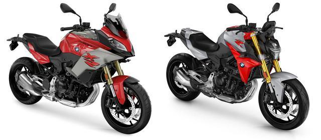 画像: 左が「F900XR」、右が「F900R」