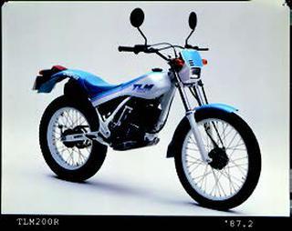 ホンダ TLM200R 1987年2月