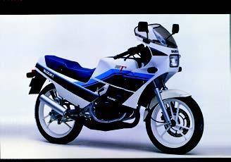 Images : スズキ RG125Γ 1987年 3月