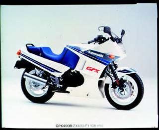 カワサキ GPX400R 1987年2月