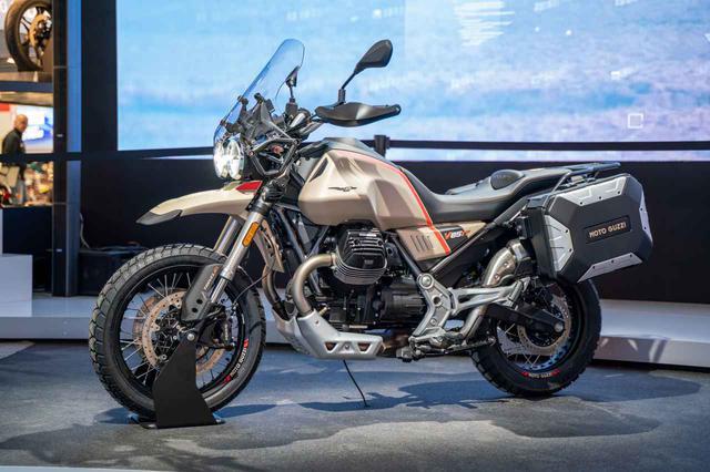 画像1: Moto Guzzi「V85 TT Travelエディション」(EICMA 2019)