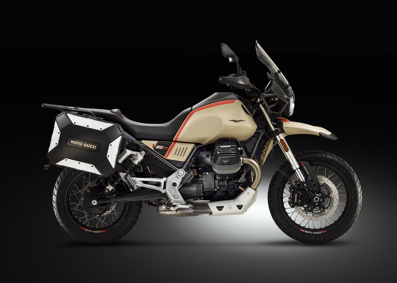 Images : 9番目の画像 - Moto Guzzi「V85 TT Travel」の写真を全て見る! - webオートバイ
