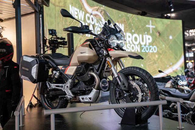 画像2: Moto Guzzi「V85 TT Travelエディション」(EICMA 2019)