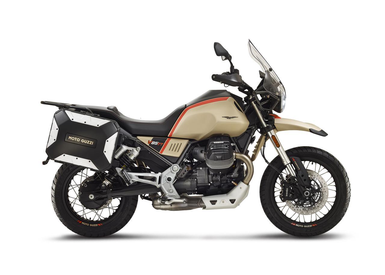 Images : 8番目の画像 - Moto Guzzi「V85 TT Travel」の写真を全て見る! - webオートバイ