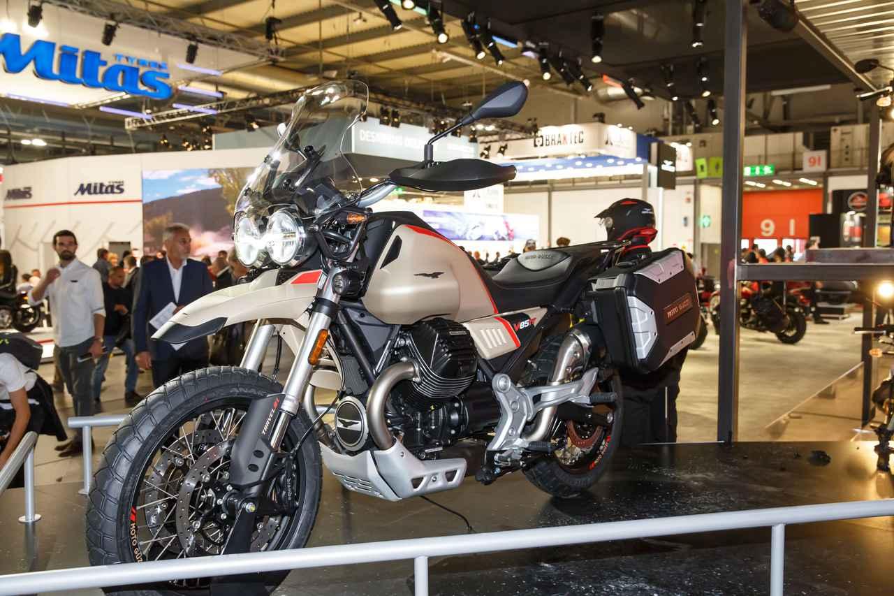 Images : 1番目の画像 - Moto Guzzi「V85 TT Travel」の写真を全て見る! - webオートバイ