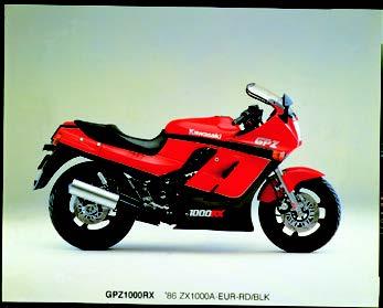 Images : カワサキ GPZ1000RX 1988 年