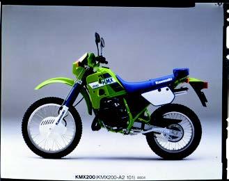 Images : カワサキ KMX200 1988 年1月
