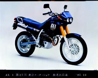 Images : ホンダ AX-1 1987年12月
