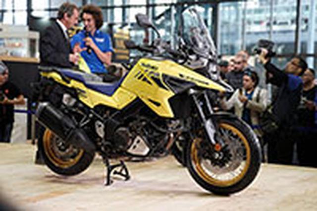 画像: 速報 2019 EICMA ミラノショーVol.2 スズキがV-STROM1050を発表! | WEB Mr.Bike