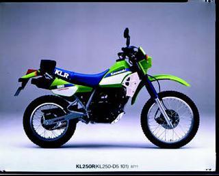 カワサキ KLR250R 1987年12月