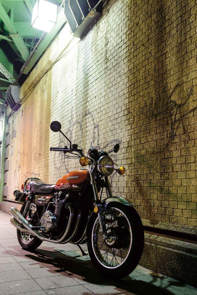 画像: 丸Zのアイコン、カワサキ空冷4気筒Zを象徴する900 SUPER 4