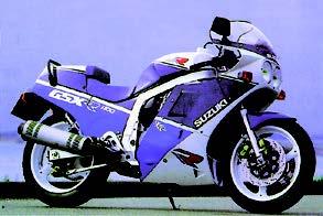 Images : スズキ GSX-R1100 1988 年