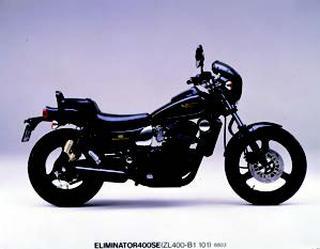 カワサキ エリミネーター400SE 1988 年 3月