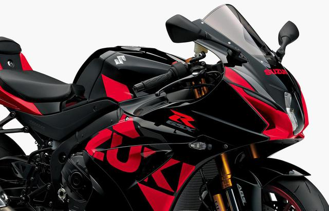 画像: スズキ「GSX-R1000R ABS」がマイナーチェンジ! カラバリとともに、タイヤの変更、ETC2.0車載器も標準装備! - webオートバイ