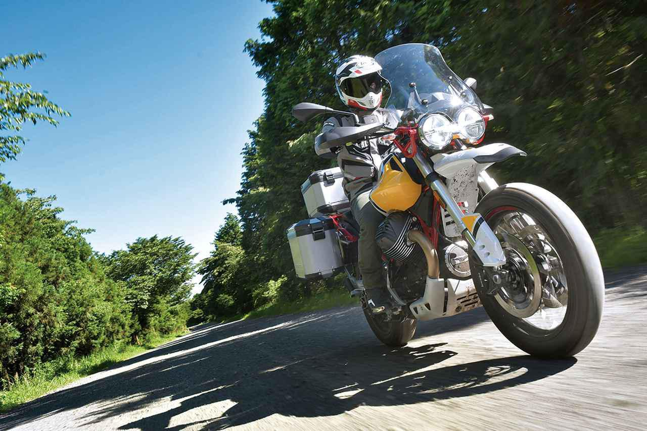 Images : 9番目の画像 - モト・グッツィ「V85TTの写真を全て見る - webオートバイ