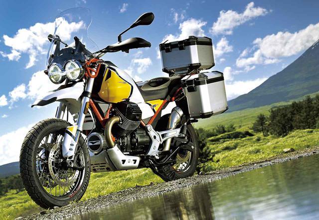 画像1: モト・グッツィ「V85TT」ジャストサイズの「クラシックトラベルエンデューロ」【ADVインプレッション】 - webオートバイ