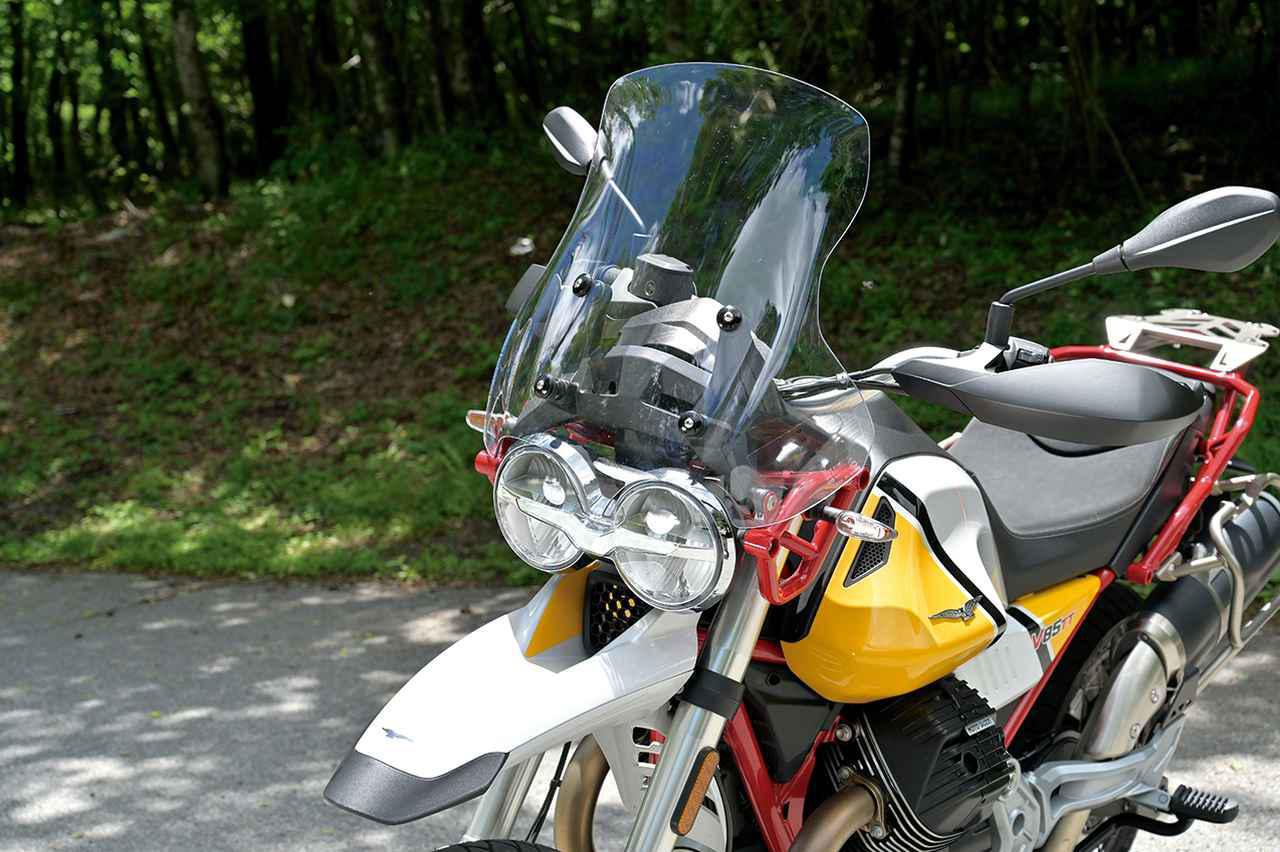 Images : 12番目の画像 - モト・グッツィ「V85TTの写真を全て見る - webオートバイ