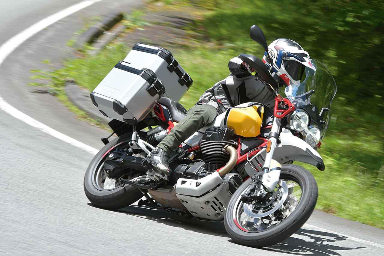 Images : 7番目の画像 - モト・グッツィ「V85TTの写真を全て見る - webオートバイ