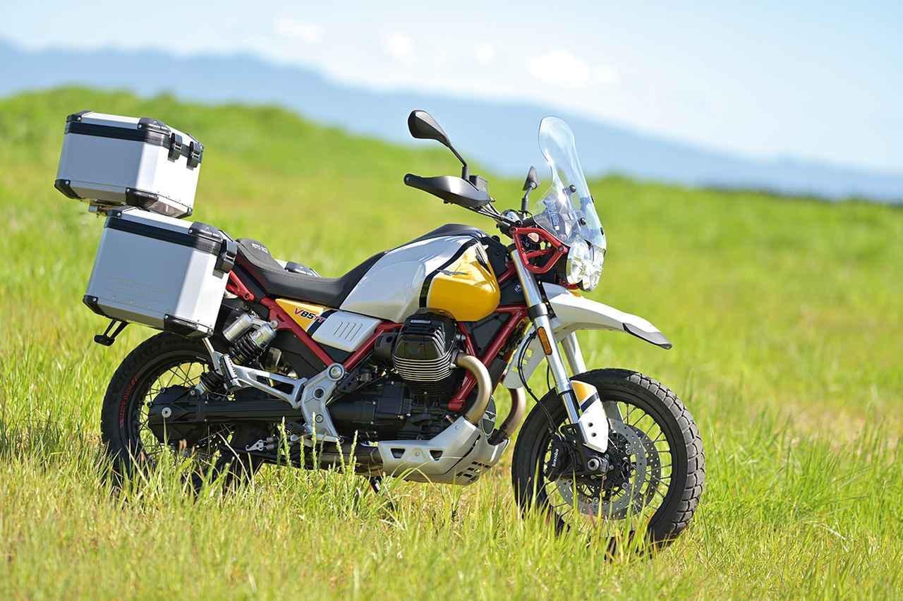 Images : 2番目の画像 - モト・グッツィ「V85TTの写真を全て見る - webオートバイ
