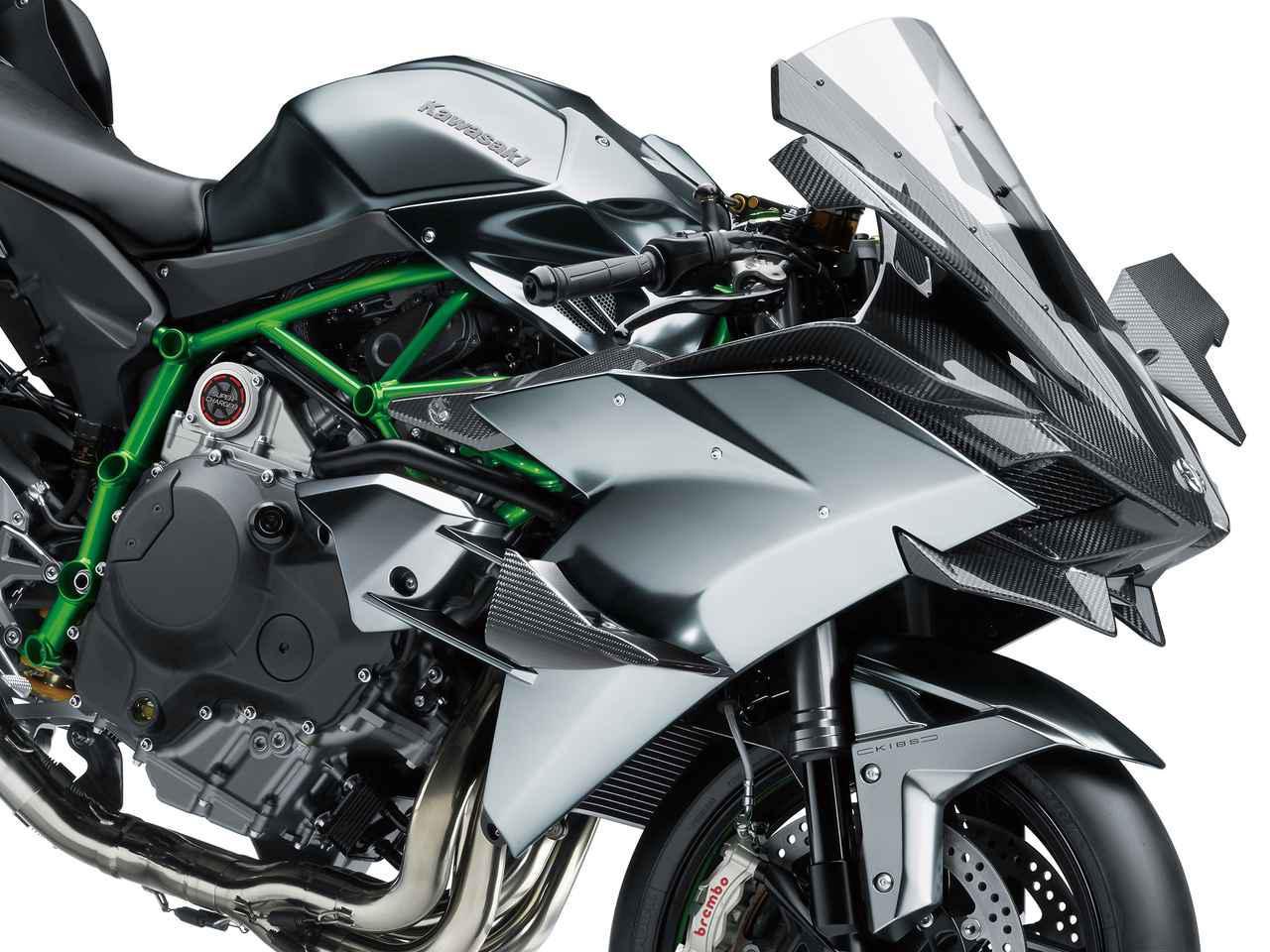 画像: カワサキが2020年モデルの「Ninja H2R」を受注生産で特別販売!受付期間は2019年11月15日~12月13日 - webオートバイ