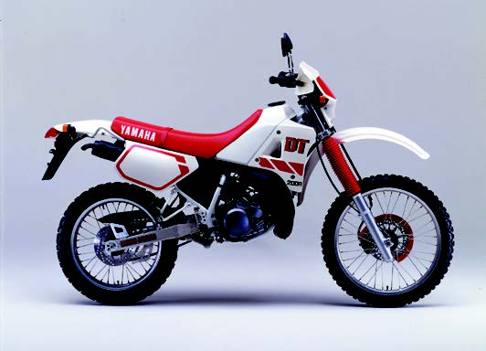 Images : ヤマハ DT200R 1988 年 6月