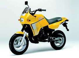 Images : ヤマハ TDR50/80 1988 年7月