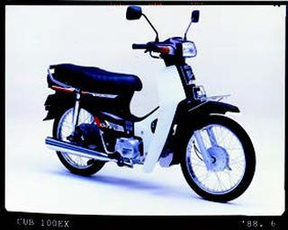 ホンダ カブ100EX 1988 年7月