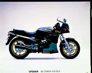 カワサキ GPZ900R 1989 年