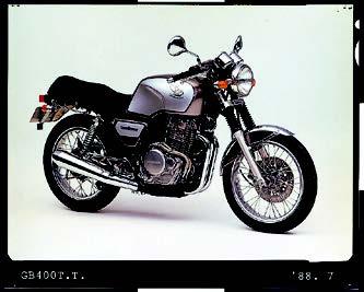 Images : ホンダ GB400TT 1988 年7月