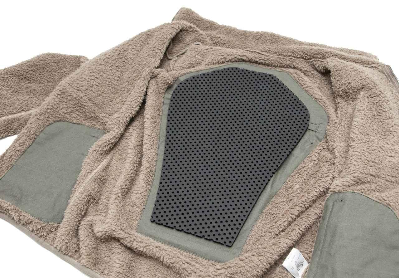 画像5: 着心地よくておしゃれ、日常からツーリングまでヘビーローテーション必至の「プロテクトフリースジャケット」