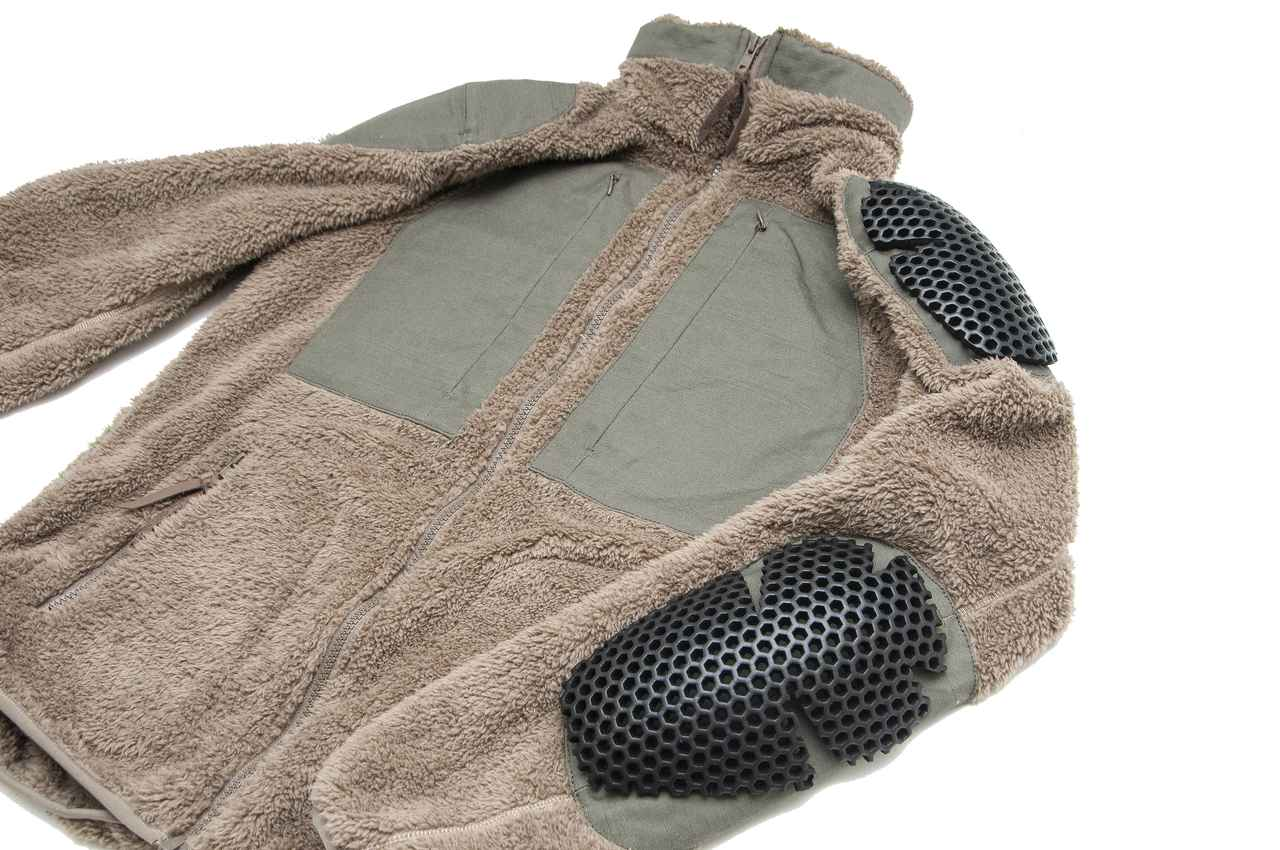画像3: 着心地よくておしゃれ、日常からツーリングまでヘビーローテーション必至の「プロテクトフリースジャケット」