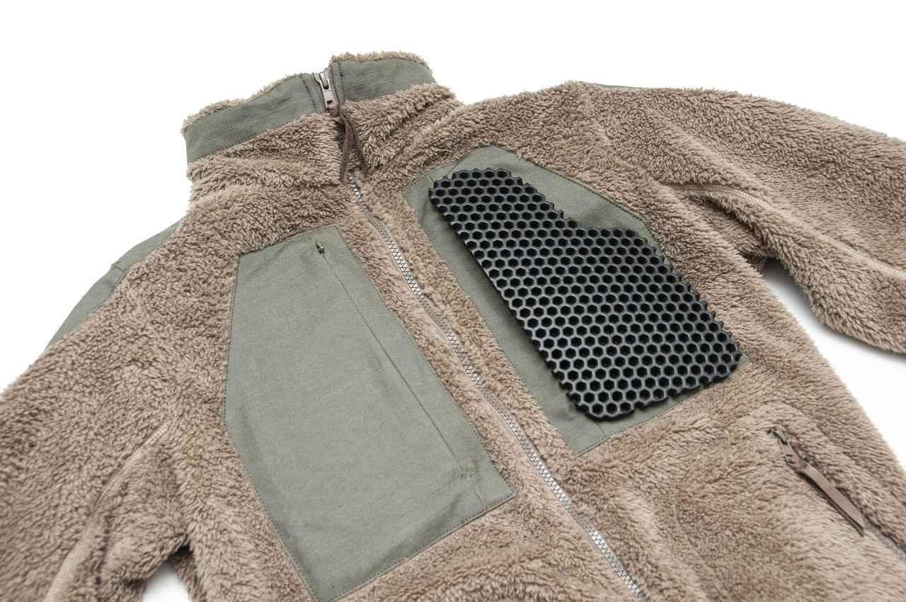 画像4: 着心地よくておしゃれ、日常からツーリングまでヘビーローテーション必至の「プロテクトフリースジャケット」