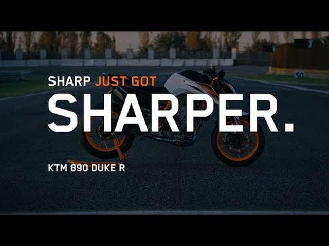 画像: THE 2020 KTM DUKE 890 R | KTM www.youtube.com