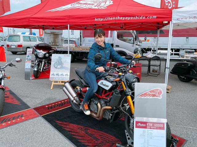 画像7: いろんなバイクの試乗が出来ちゃう 「ワールドモト」♪ 私は6台のバイクに試乗してきました!(梅本まどか)
