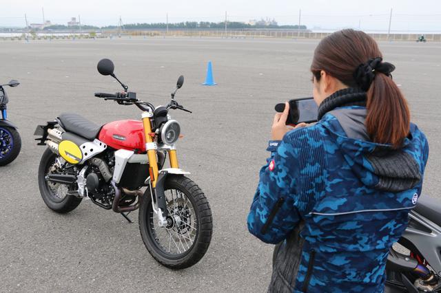 画像5: いろんなバイクの試乗が出来ちゃう 「ワールドモト」♪ 私は6台のバイクに試乗してきました!(梅本まどか)