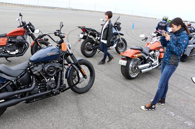 画像4: いろんなバイクの試乗が出来ちゃう 「ワールドモト」♪ 私は6台のバイクに試乗してきました!(梅本まどか)