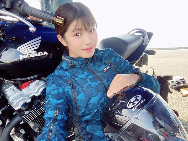 画像1: いろんなバイクの試乗が出来ちゃう 「ワールドモト」♪ 私は6台のバイクに試乗してきました!(梅本まどか)