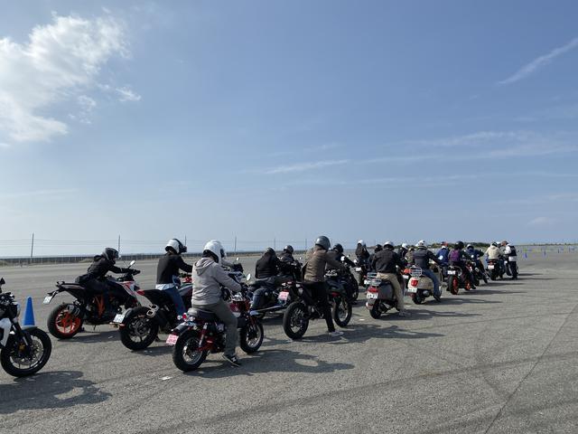 画像2: いろんなバイクの試乗が出来ちゃう 「ワールドモト」♪ 私は6台のバイクに試乗してきました!(梅本まどか)