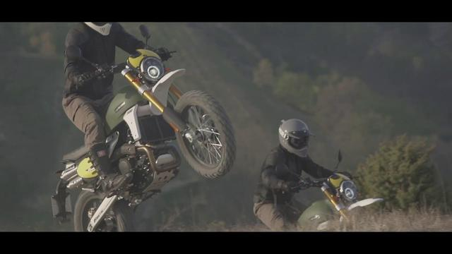 画像: Fantic Caballero Rally 500 - Official Video www.youtube.com