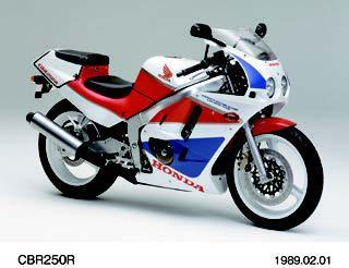 ホンダ CBR250R 1989 年2月