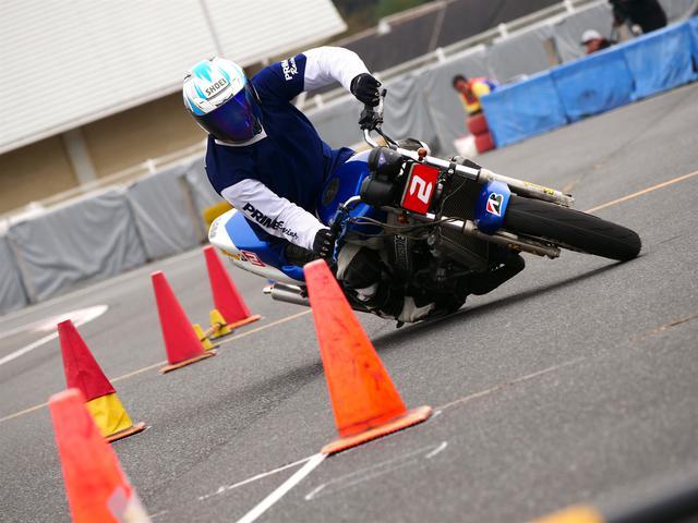 画像: A級2位・池田秀一選手&NSR250R 1分35秒127